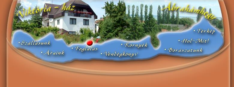 balaton ábrahámhegy térkép Viktória ház   Ábrahámhegy   Térkép ::. balaton ábrahámhegy térkép